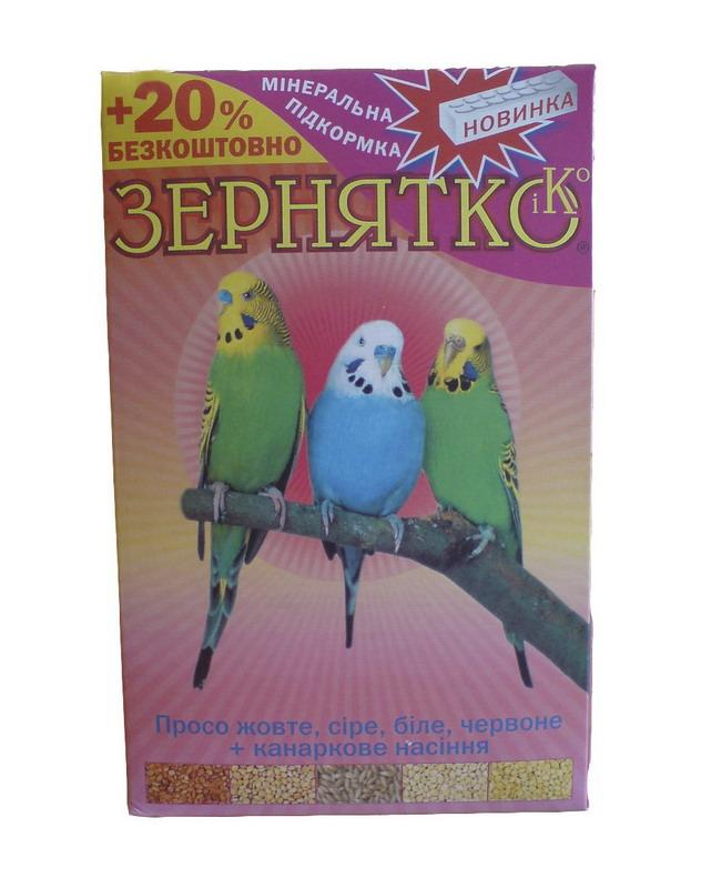 Просо 4 вида корм для попугаев