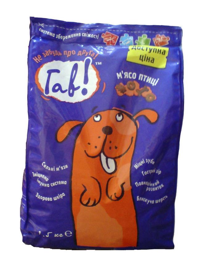Корм для собак Гав 3 кг