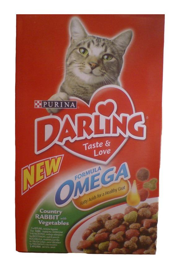 Корм дарлинг для кошек с кроликом