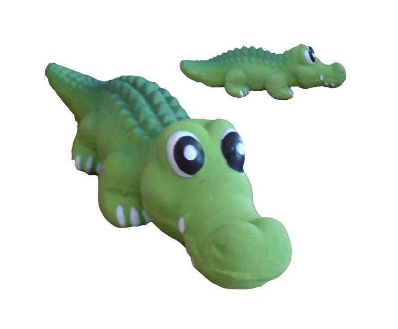 Крокодил игрушка для собак