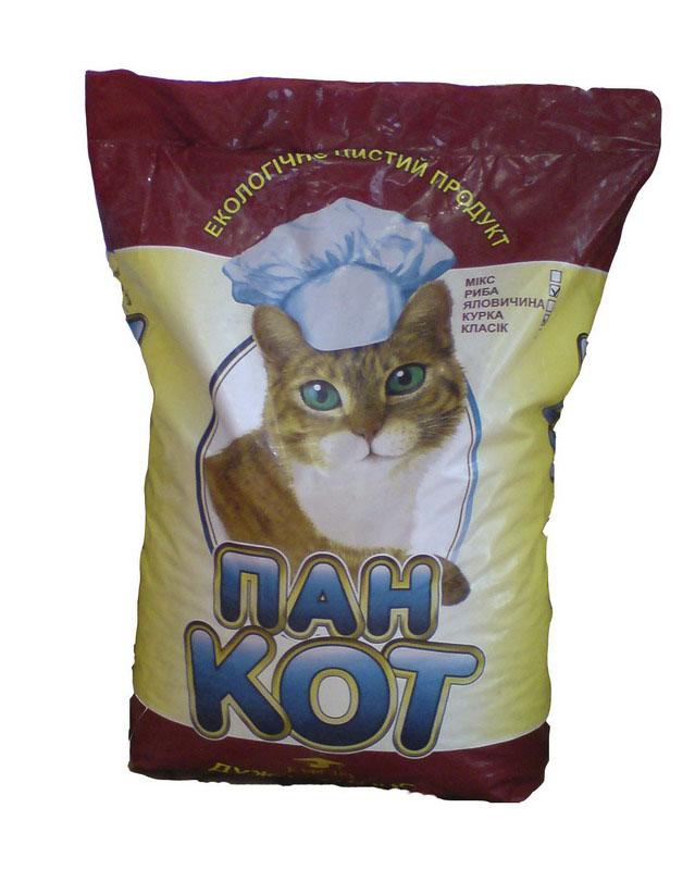 Пан кот рыба