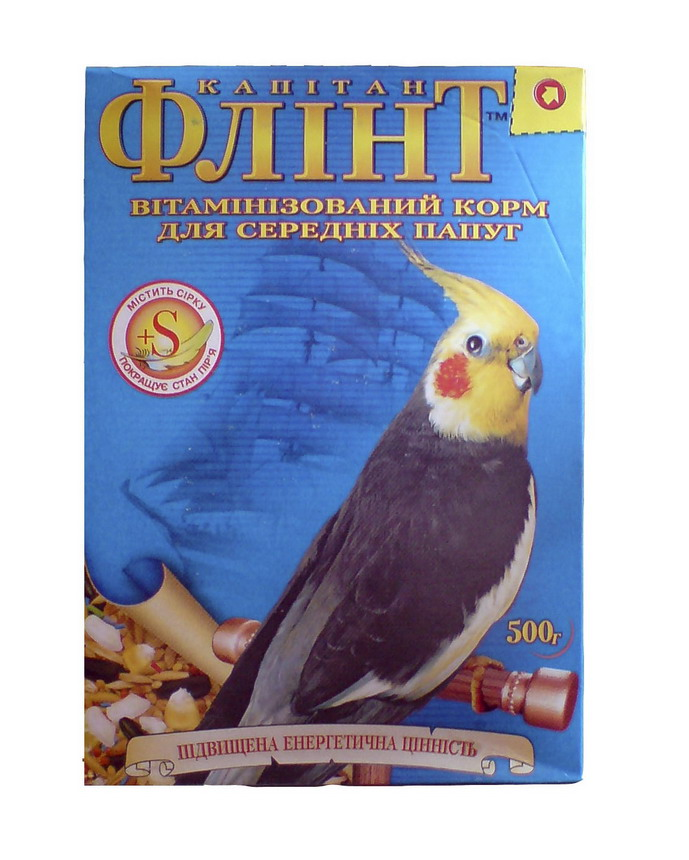 Флинт для средних попугаев