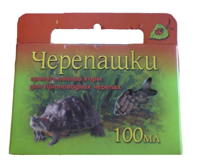Корм для черепах черепашка