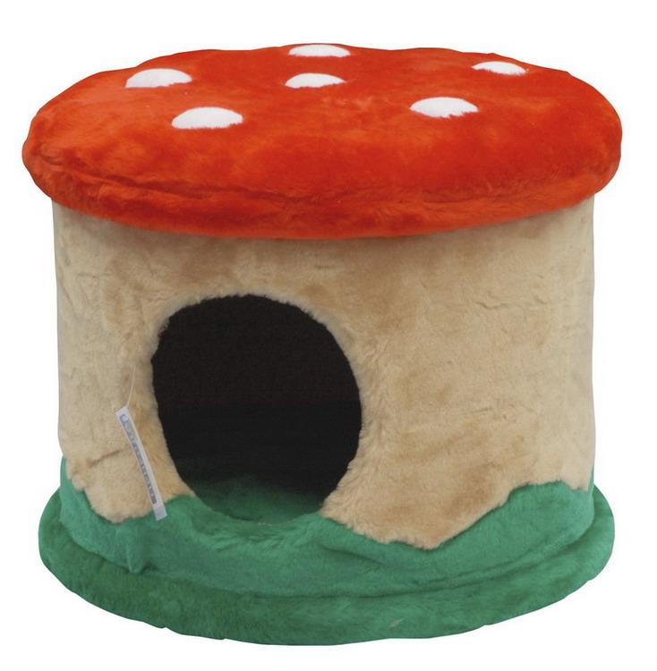 Домик для кошек Мухомор