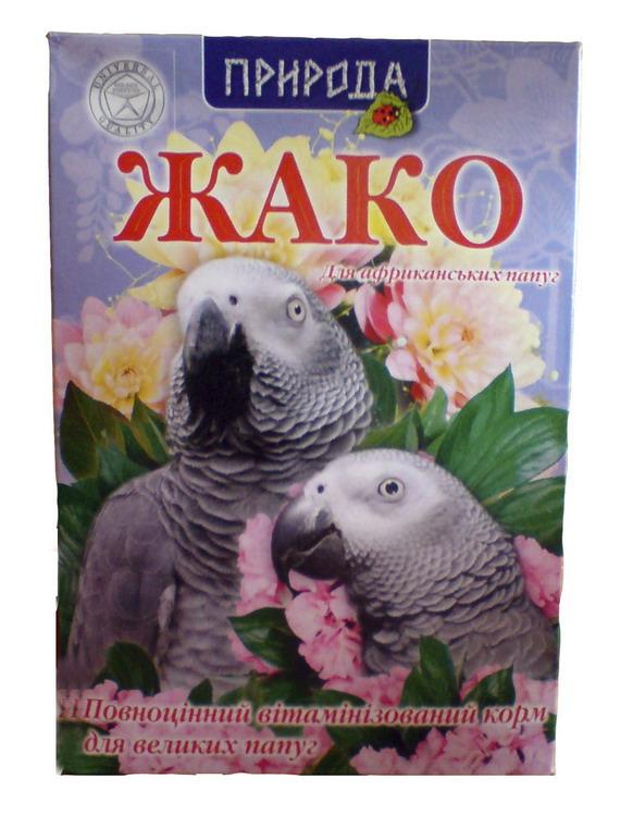 Жако ром для попугаев