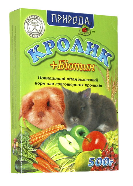 Кролик биотин 500 г.