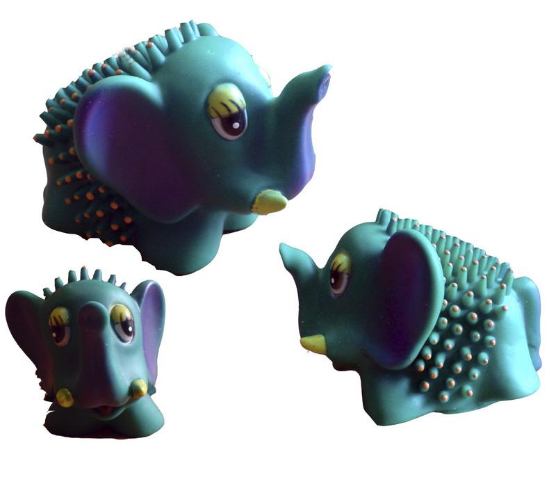 Слоник с шипами 10см.