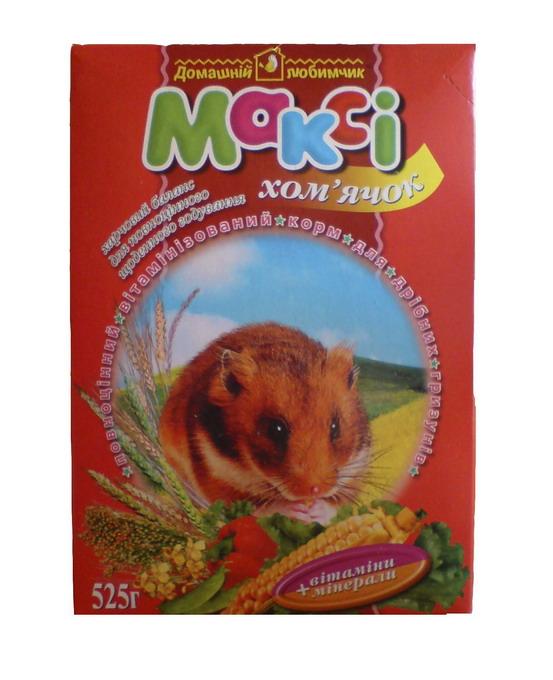 Макси хомячок корм для хомяков
