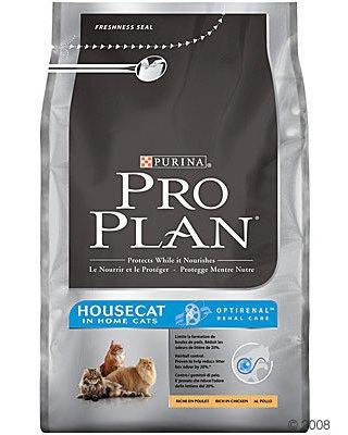 Pro Plan House Cat сухой корм для кошек с низкой активностью