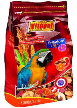 Витапол ZVP-0272 ПРЕМИУМ полнорационный корм для крупных попугаев 750 г.
